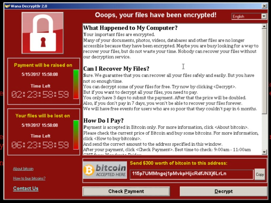 WannaCrypt Ransomware Worm Continues to Infect Computers Globally